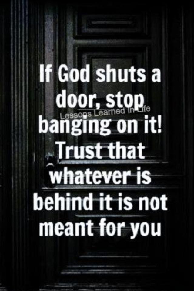 Shut Doors