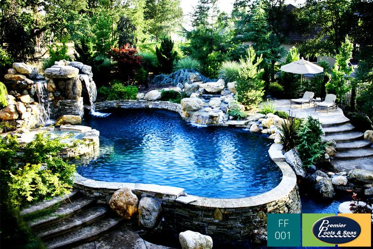 Pin by premier pools and spas on freeform swimming pools for Premier pools