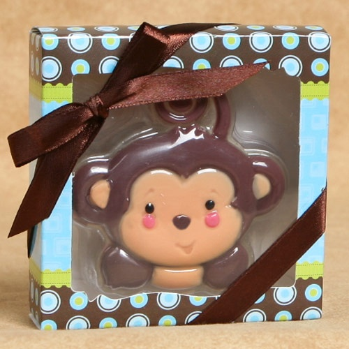 monkey boy soaps baby shower favors