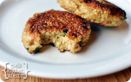 ... if they can be baked. melskitchencafe.com: Little Quinoa Patties