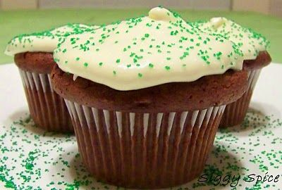 Siggy Spice: Chocolate Guinness Cupcakes Andy would like these. They ...