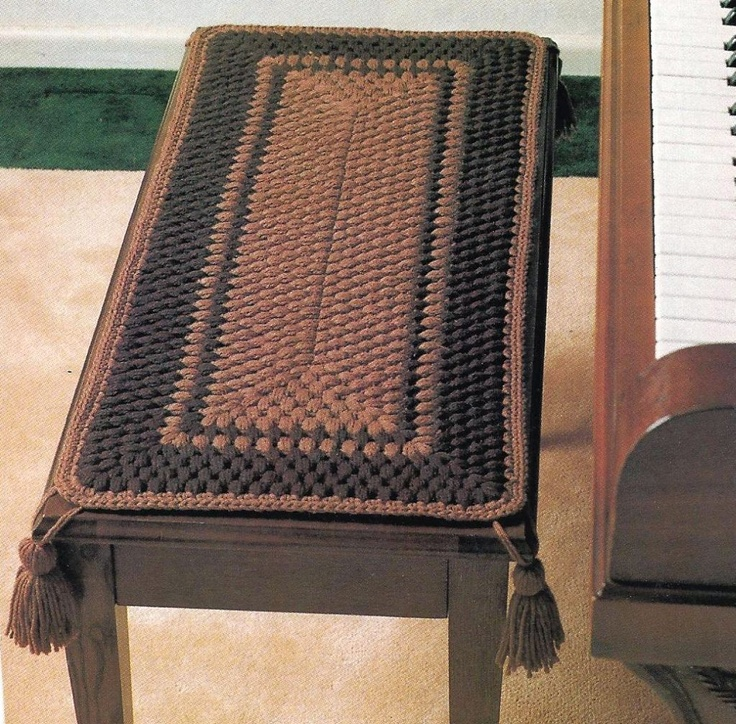 piano bench cover diy home deco pinterest