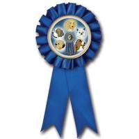 A Blue Ribbon...the standard of excellence, for your champion and best friend. #Blue #Dog #Show #Ribbon Award http://www.crownawards.com/StoreFront/ROSBKBL.Animalsqz1Birds.Ribbons-Tro-Favors.Blue_Rosette_Ribbon.prod