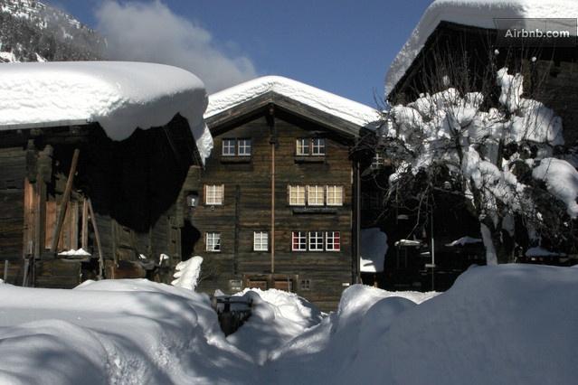 Reckingen Gluringen Switzerland  City new picture : Charming flat in the Swiss Alps in Reckingen Gluringen from $83 per ...