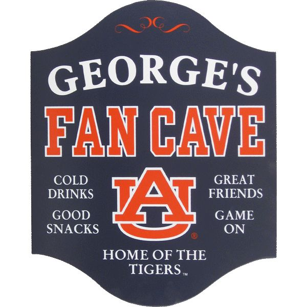 Auburn Tigers home decor Gift Idea of the Day Pinterest