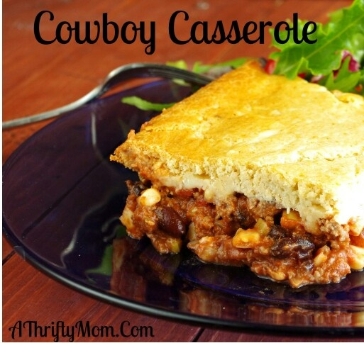 Cowboy casserole | Yummy Food! | Pinterest