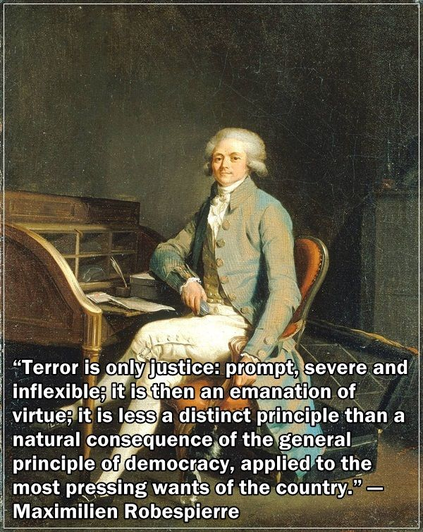 the life and rule of maximilien robespierre Maximilien robespierre history of france  why was robespierre's rule considered as the 'reign of terror' how bad was the french reign of terror.