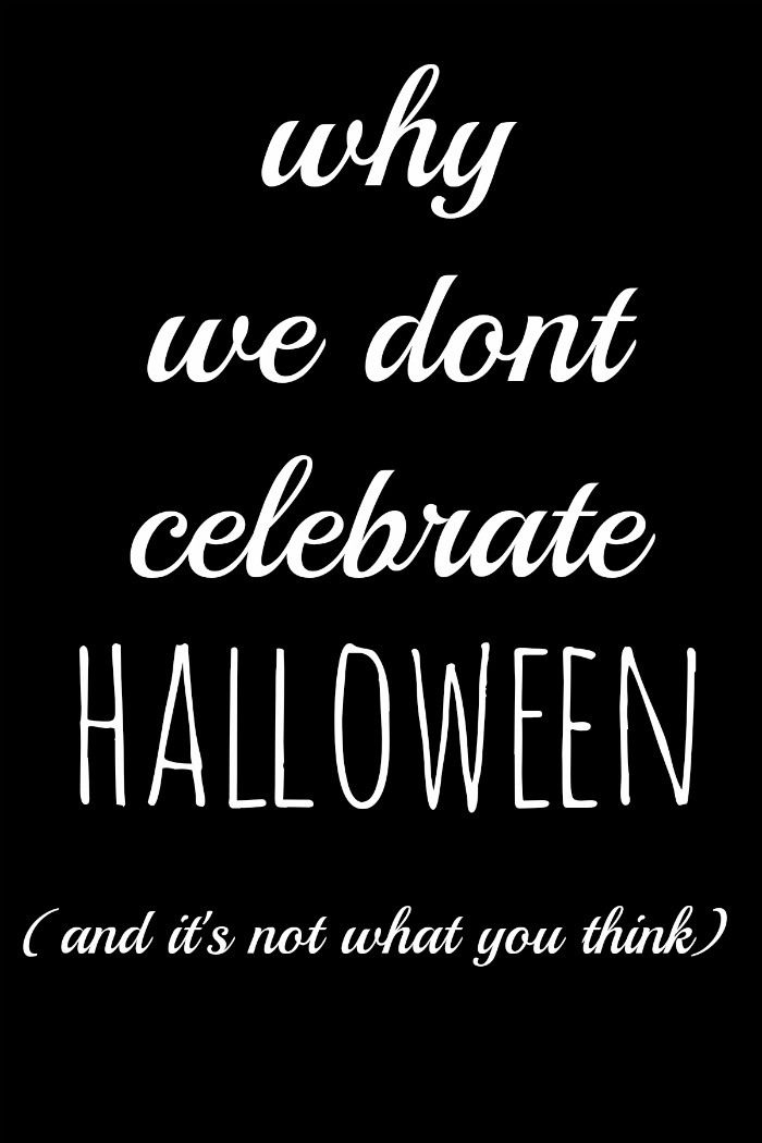 Why we don 39 t do halloween for Why do we celebrate halloween in america