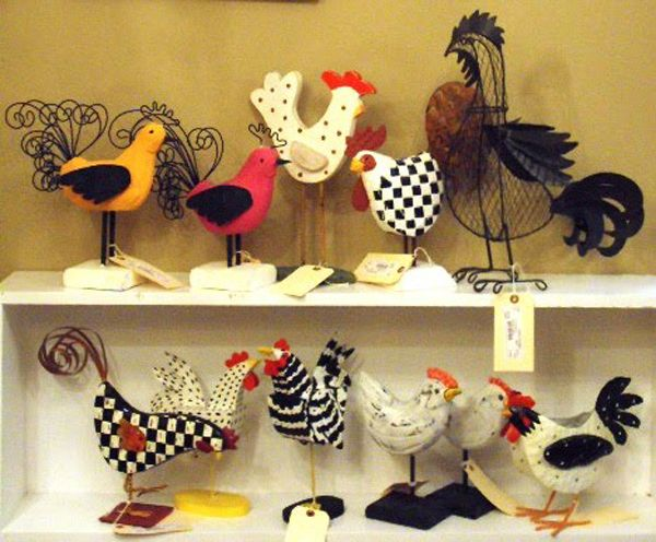 French kitchen decor with roosters country french for Rooster kitchen ideas