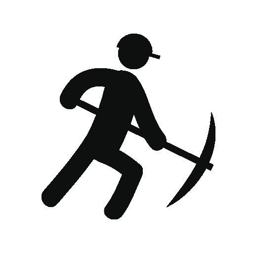 Person sting miner free icon | Free flat icons | Pinterest: pinterest.com/pin/307511480778282172
