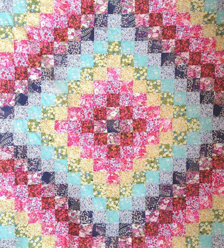 Trip Around the World Quilt Pattern PATCHWORK! Pinterest