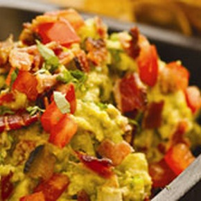 Bacon and Tomato Guacamole. Let's be honest, anything's better with ...