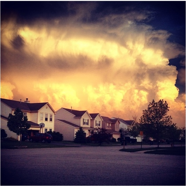 #sunset #clouds #storm #summer #warm #sun #beautiful