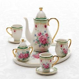 Lovely little miniature tea set