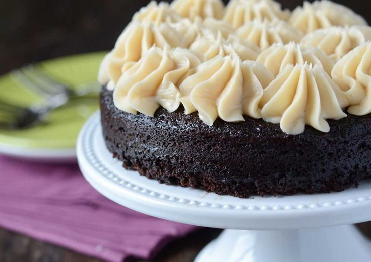 Dark Chocolate Guinness Cake with Bailey's Buttercream. Developed for ...