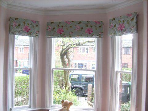Bay window treatment ideas home pinterest for Ideas for bay window treatments