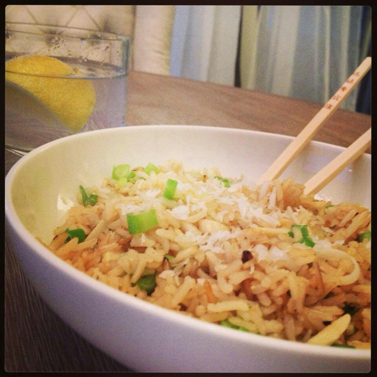 Coconut brown rice | healthy eats | Pinterest