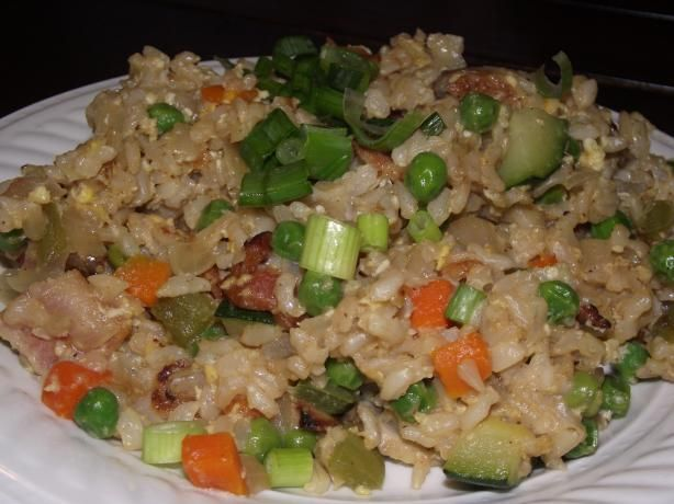 Brown Fried Rice - Five Treasure | Recipe