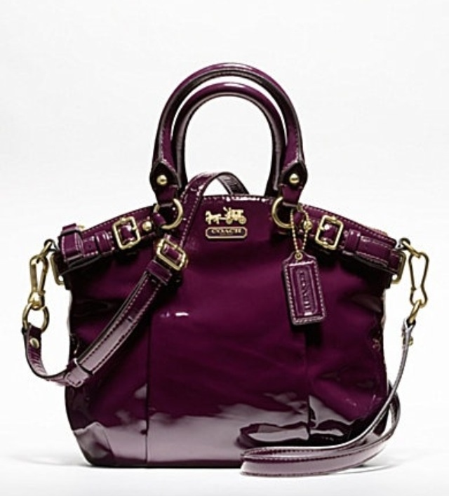 Purple Patent Leather Purse Images
