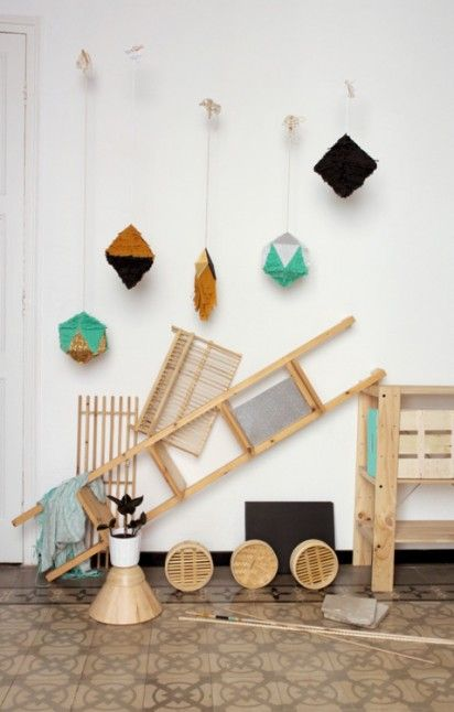 geometric pinatas from nata in barcelona 3