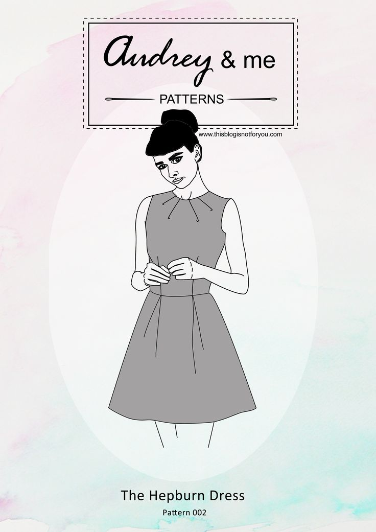 The Hepburn Dress Pattern | This Blog Is Not For You