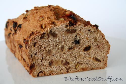 Cinnamon Raisin Bread (Yeast-free!) @ Bit of the Good Stuff