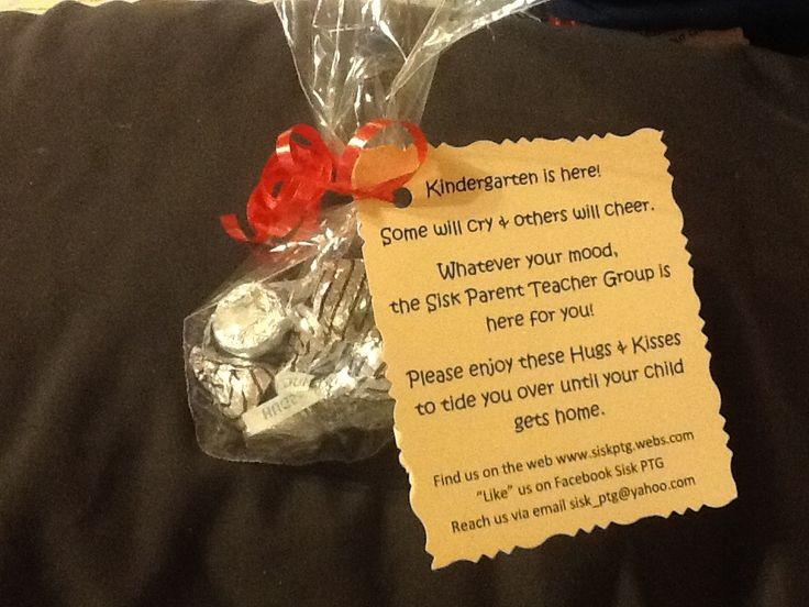 Hugs and Kisses poem for kindergarten parents Parent Teacher Group PTA ...
