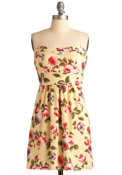 Blossoms and Buttercream Dress