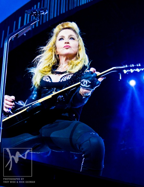 Madonna's MDNA Tour at Hyde Park in London. Photo by Troy Wise.