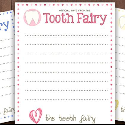 It's just a picture of Old Fashioned Tooth Fairy Stationary