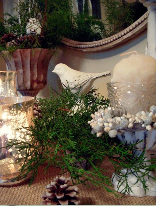 Holiday ideas home decor pinterest for Pinterest home decor xmas