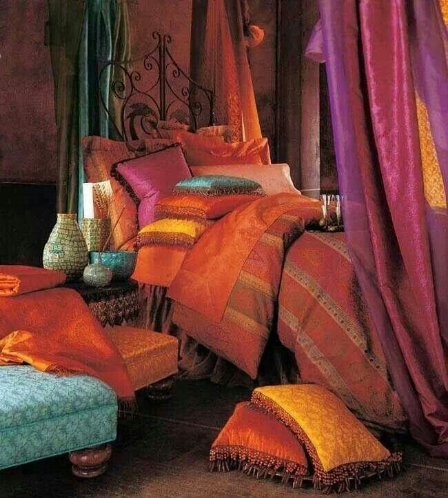 Spare room house decorating pinterest for Arabian themed bedroom ideas