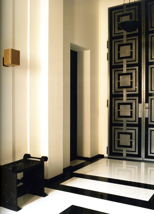 Entry hall by pierre yovanovitch doors pinterest - Pierre yovanovitch ...
