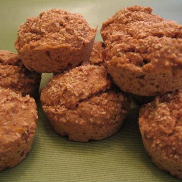 Fat-Free Peach Bran Muffins | Food | Pinterest