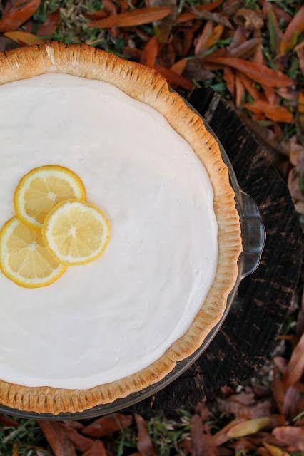 Old Fashion Lemon Pie