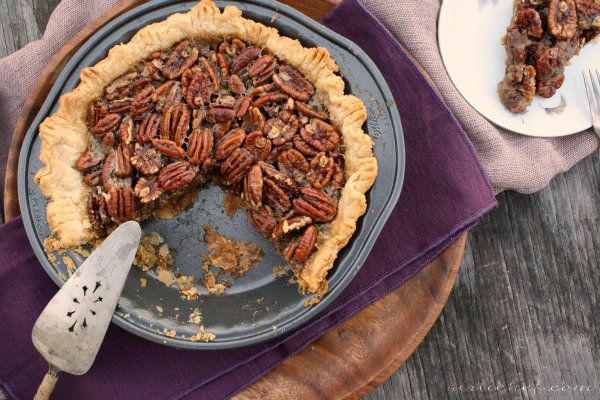 girlichef: Spiced Maple Pecan Pie w/ Star Anise {she made, ella hace}
