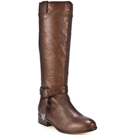 knee high brown leather boots fashionista