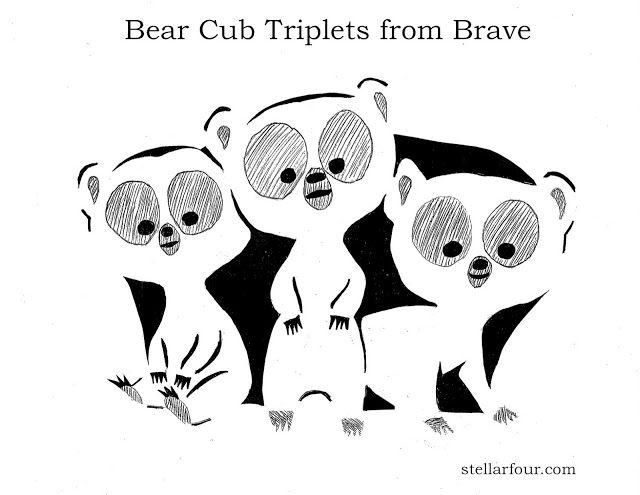 Bear cubs from brave halloween pinterest