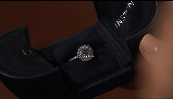 Harry Winston Ring From Gossip Girl