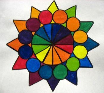 Color Wheel Lesson Plans Using Watercolors