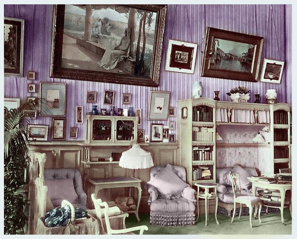Mauve Room - colorized
