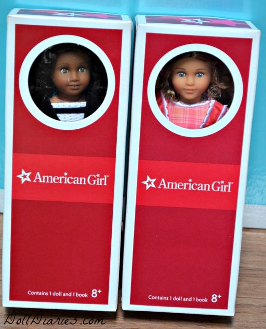 Giveaway � American Girl Mini Cecile and Marie Grace Dolls
