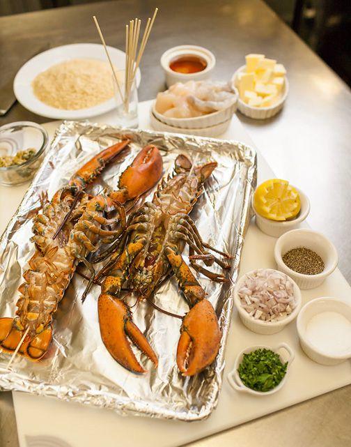 Baked Stuffed Lobster | Sweet & Savory | Pinterest