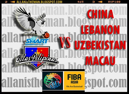 FIBA Asia Cup 2012 Live Streaming ( Smart-Gilas Pilipinas Schedules ...