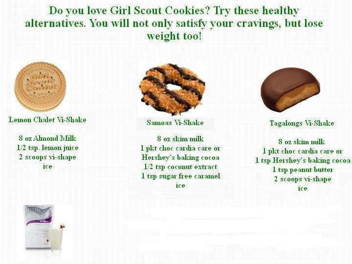Girl Scout cookie vi shakes!! | Body By Vi Shake Recipes | Pinterest