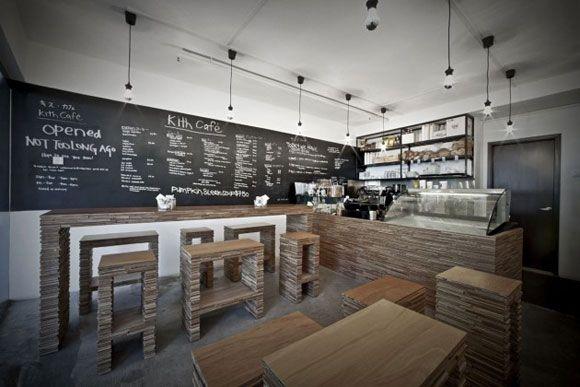 Modern coffee shop interior design school pinterest - Modern coffee shop interior ...