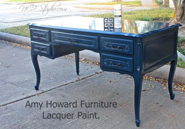 Amy Howard Belgium Blue Lacquer Unique Furniture Ideas Pinterest