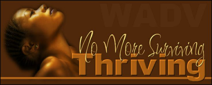 Thrive, don't just sur...