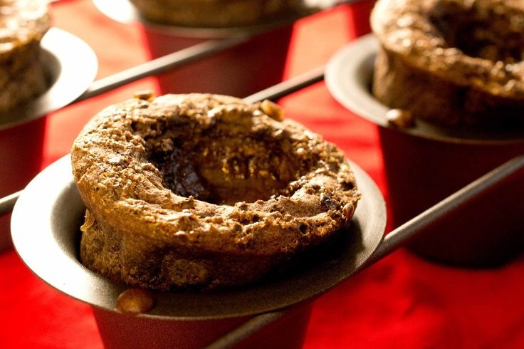 Spicy Choco Popovers w Salted Dulce de Leche & other popover recipes