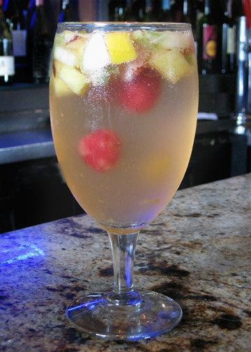 best white wine sangria ever @ 26 beach | Booze | Pinterest